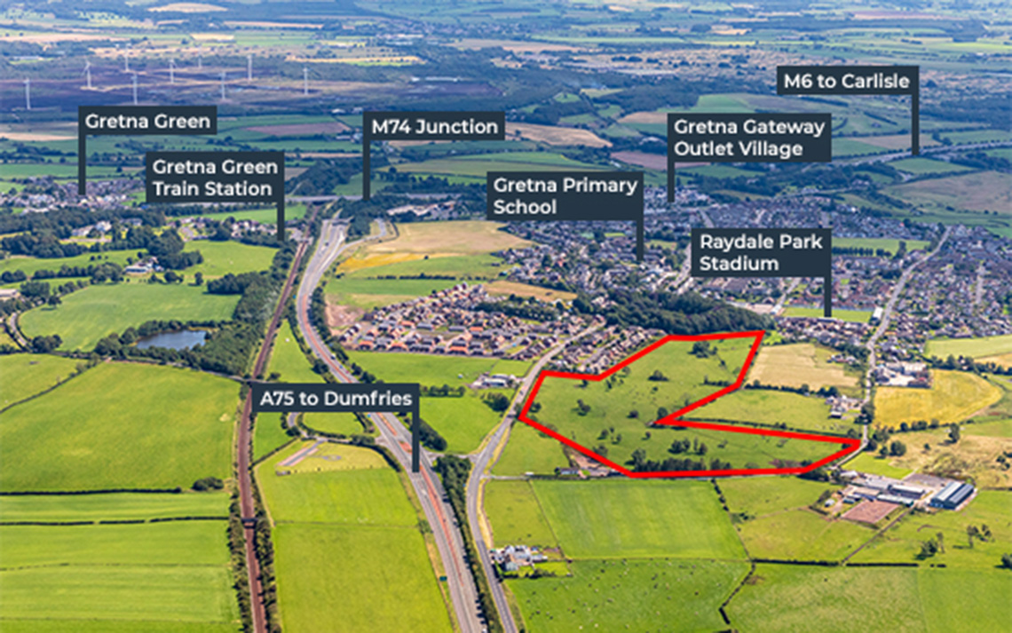 Alba Developments welcomes final approval for 200 homes in Gretna