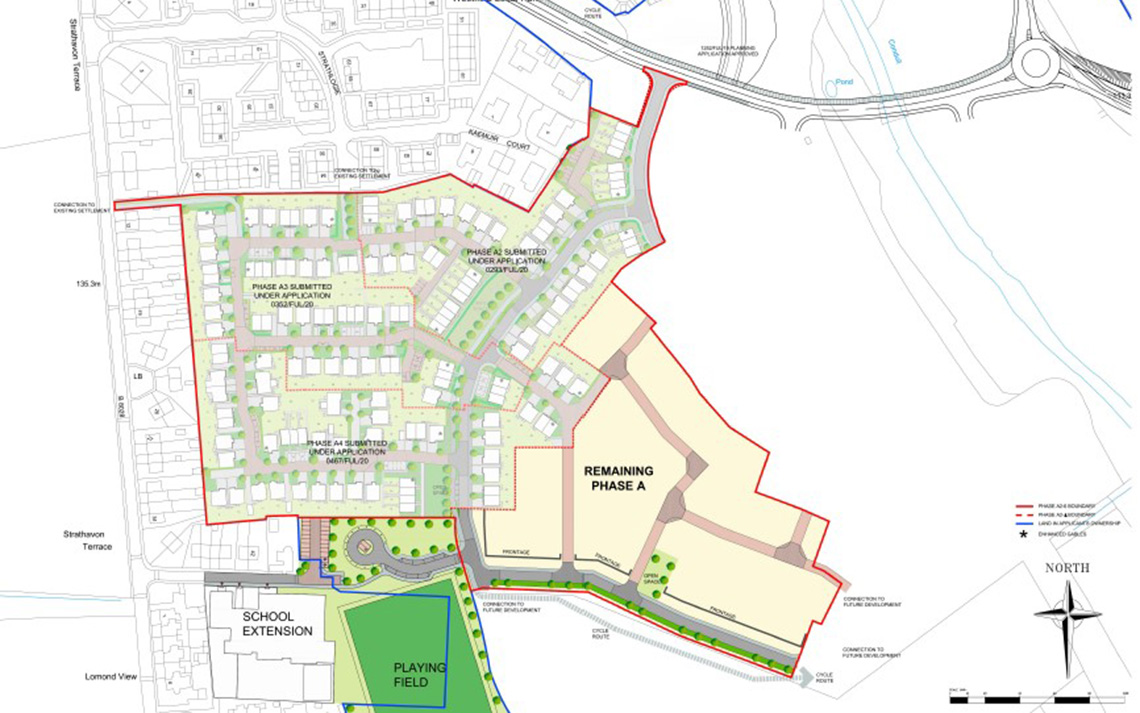 Buyers sought for first phases of £100m West Lothian development